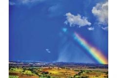 Cartolina arcobaleno