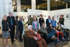 Ausstellungseröffnung Pino Bertelli - 019