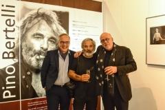 Ausstellungseröffnung Pino Bertelli - 054