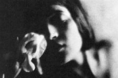 Edward Weston, L'iris bianco, 1921