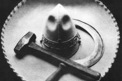 Tina Modotti, Sombrero, falce e martello, 1927