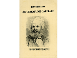 Né cinema né capitale