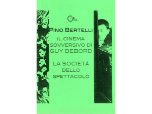 Il cinema sovversivo di Guy Debord