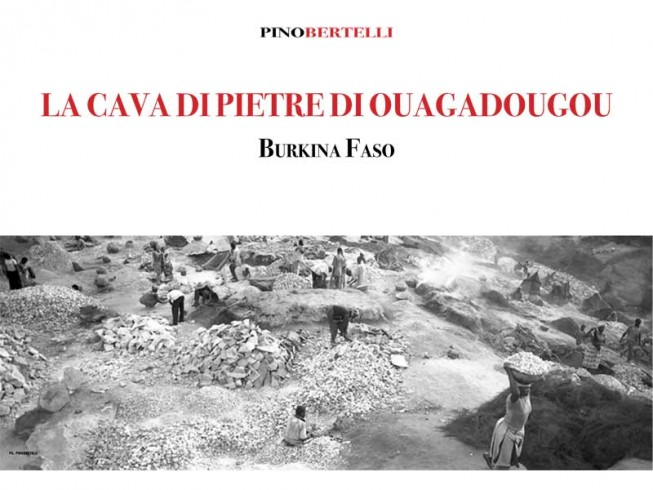 La cava di pietre di Ouagadougou. Burkina Faso