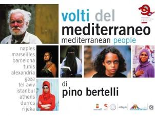 Bruciata la mostra VOLTI DEL MEDITERRANEO di Pino Bertelli