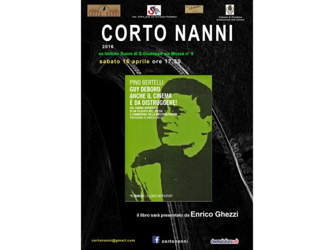CORTO NANNI – Enrico Ghezzi presenta il libro di Pino Bertelli