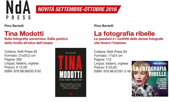 A settembre per la NdA Press, escono i libri di Pino Bertelli