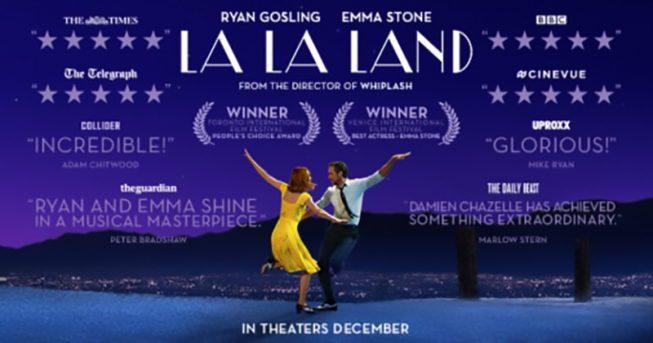 La La Land (2016), di Damien Chazelle