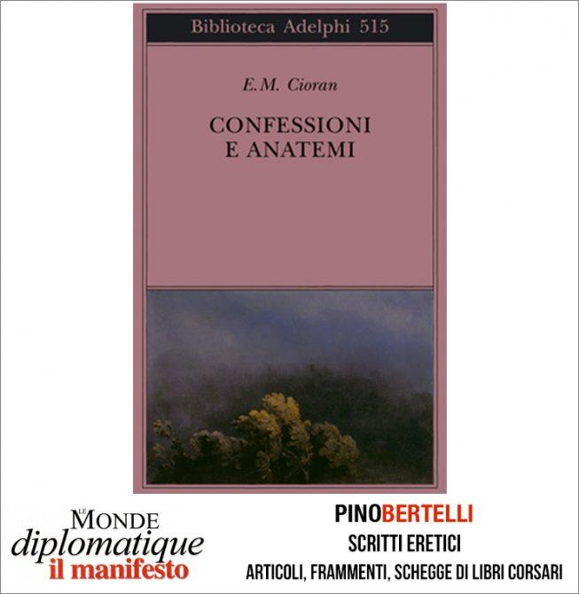 CONFESSIONI E ANATEMI
