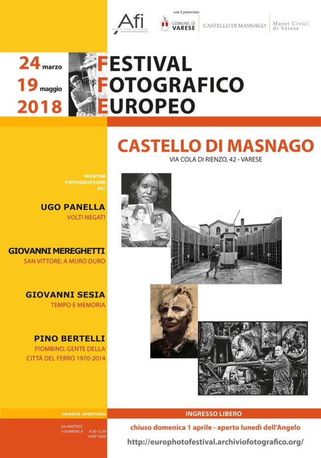 Mostra di Pino Bertelli – Gente della Città del ferro. Piombino 1970 / 2014