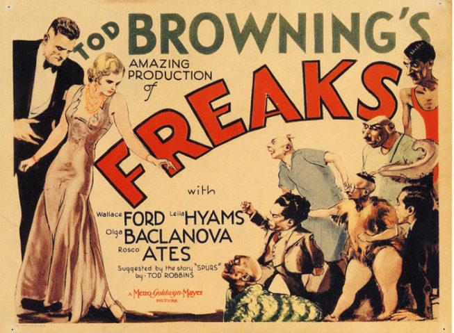 FREAKS (MOSTRI, 1932), di Tod Browning