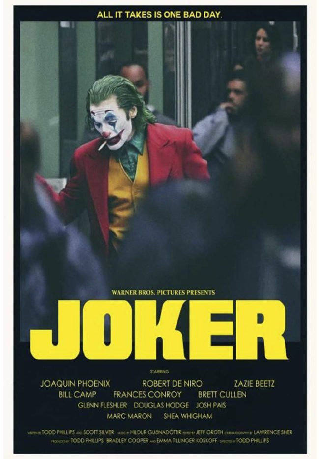 Joker (2919), di Todd Phillips