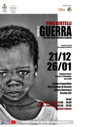 Contro la guerra. Ritratti dall'infanzia negata: mostra fotografica di Pino Bertelli