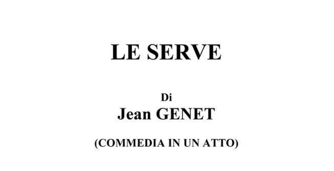Jean GENET – LE SERVE